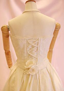変型スカートのセパレーツマリエ ブランシュ・ネージュ